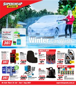 Cars, Motorcycles & Spares specials in the SuperCheap Auto catalogue ( 7 days left)