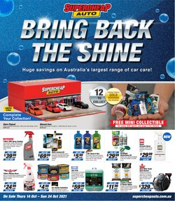 Cars, Motorcycles & Spares specials in the SuperCheap Auto catalogue ( 4 days left)