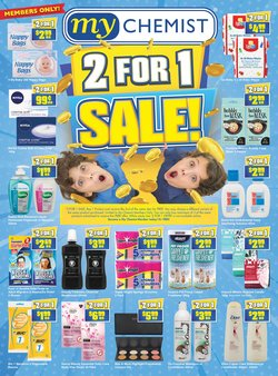 Pharmacy, Beauty & Health specials in the My Chemist catalogue ( Expires today)