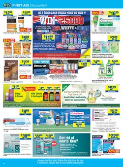 Brauer specials in the My Chemist catalogue ( Expires today)