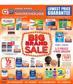 Offers from Good Price Pharmacy in the Brisbane QLD catalogue