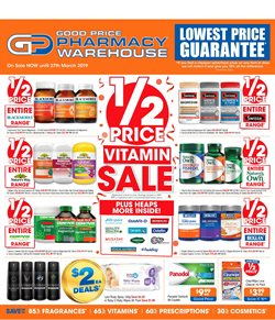 Pharmacy, Beauty & Health offers in the Good Price Pharmacy catalogue in Sydney NSW