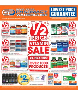 Good Price Pharmacy catalogue ( 19 days left )