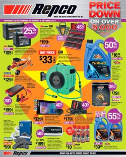 Cars, motorcycles & spares offers in the Repco catalogue in Newcastle NSW