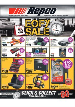 Cars, motorcycles & spares offers in the Repco catalogue in Kingaroy QLD
