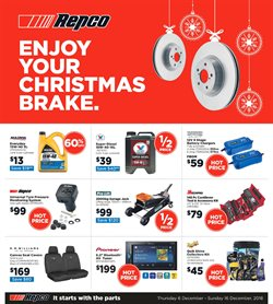 Cars, motorcycles & spares offers in the Repco catalogue in Canberra ACT