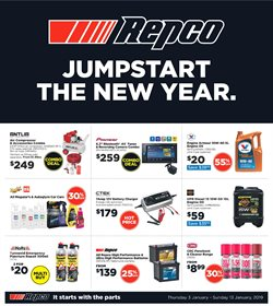 Cars, motorcycles & spares offers in the Repco catalogue in Lithgow NSW