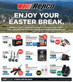 Cars, motorcycles & spares offers in the Repco catalogue in Adelaide SA