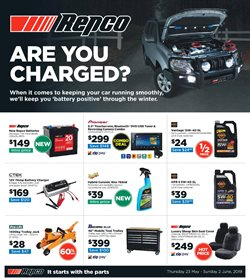 Offers from Repco in the Brisbane QLD catalogue
