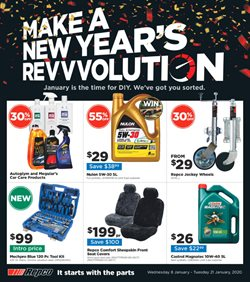 Cars, Motorcycles & Spares offers in the Repco catalogue in Sydney NSW