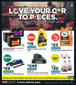 Repco catalogue ( 3 days ago )