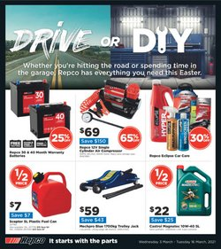 Repco catalogue ( 8 days left )