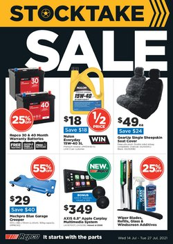 Cars, Motorcycles & Spares specials in the Repco catalogue ( 2 days left)