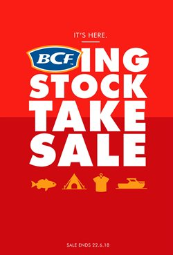 Sport offers in the BCF catalogue in Bendigo VIC