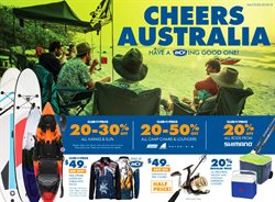 Sport offers in the BCF catalogue in Bairnsdale VIC