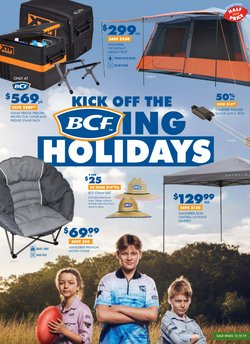 Sport offers in the BCF catalogue in Sydney NSW