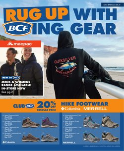 BCF specials in the BCF catalogue ( Expired)