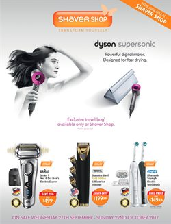 Pharmacy, Beauty & Personal Care offers in the Shaver Shop catalogue in Rockingham WA