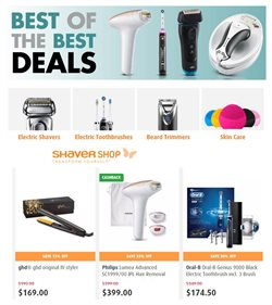 Pharmacy, Beauty & Health offers in the Shaver Shop catalogue in Adelaide SA