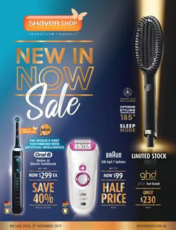 Pharmacy, Beauty & Health offers in the Shaver Shop catalogue in Brisbane QLD