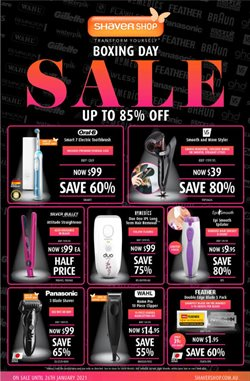 Shaver Shop catalogue ( 5 days left )