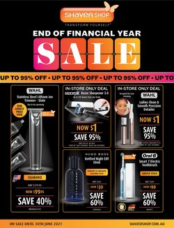 Pharmacy, Beauty & Health specials in the Shaver Shop catalogue ( 11 days left)
