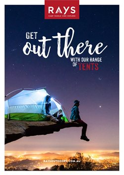 Sport offers in the Ray's Outdoor catalogue in Canberra ACT