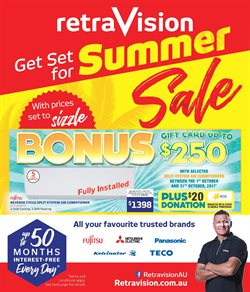 Electronics & Appliances offers in the Retravision catalogue in Rockingham WA