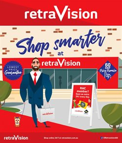 Offers from Retravision in the Perth WA catalogue