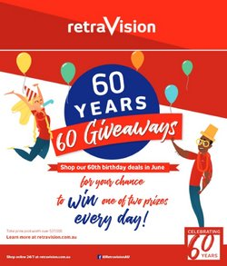 Electronics & Appliances specials in the Retravision catalogue ( 6 days left)