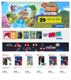 EB Games catalogue ( 5 days left )