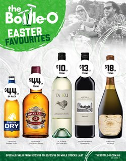 Offers from The Bottle O in the Melbourne VIC catalogue