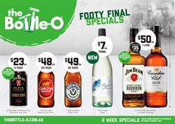 Grocery offers in the The Bottle O catalogue in Swan Hill VIC
