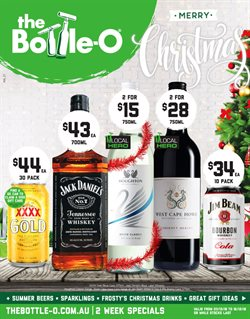 Offers from The Bottle O in the Baldivis WA catalogue