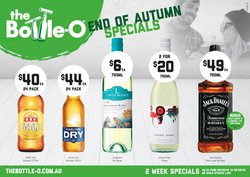 Offers from The Bottle O in the Glen Eira VIC catalogue