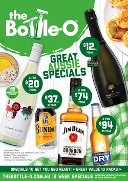 Offers from The Bottle O in the Sydney NSW catalogue