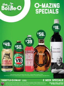 The Bottle O specials in the The Bottle O catalogue ( 6 days left)