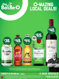 The Bottle O specials in the The Bottle O catalogue ( 4 days left)
