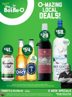 The Bottle O specials in the The Bottle O catalogue ( 10 days left)