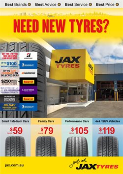 Offers from Jax Quickfit Tyres in the Sydney NSW catalogue
