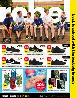 Offers from Rebel in the Sydney NSW catalogue