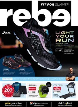 Sport offers in the Rebel catalogue in Baldivis WA
