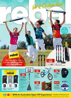 Sport offers in the Rebel catalogue in Bendigo VIC