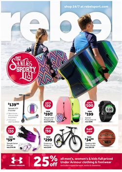 Offers from Rebel in the Brisbane QLD catalogue