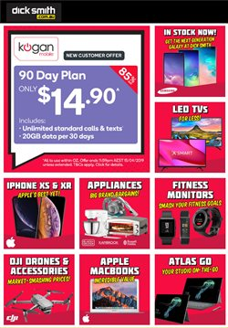 Offers from Dick Smith in the Perth WA catalogue