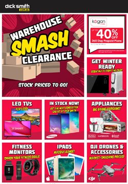Offers from Dick Smith in the Adelaide SA catalogue