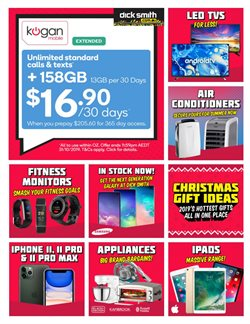 Offers from Dick Smith in the Blacktown NSW catalogue