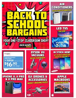 Dick Smith catalogue ( More than one month)