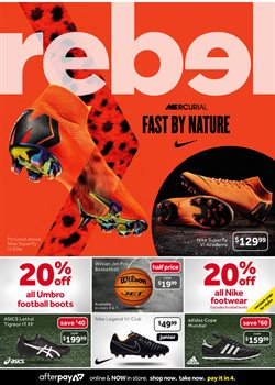 Sport offers in the Amart sports catalogue in Sydney NSW