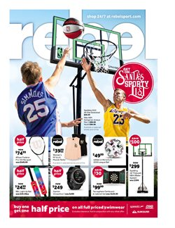 Sport offers in the Amart sports catalogue in Canberra ACT